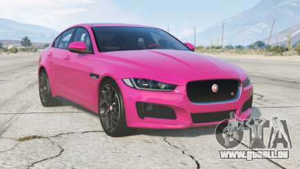 Jaguar XE S (X760) 2015 v3.0 pour GTA 5