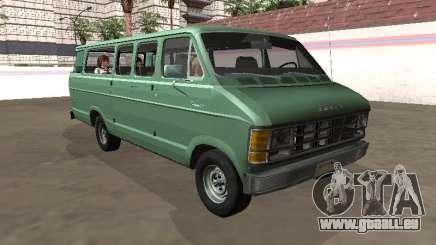 Dodge Ram 3500 1989 15 passagers pour GTA San Andreas