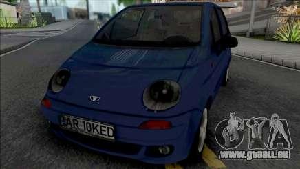 Daewoo Matiz (Romanian Plate) pour GTA San Andreas