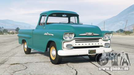 Chevrolet Apache 31 Fleetside Pickup Truck (3A-3134) 1958〡add-on v1.1 pour GTA 5