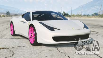 Ferrari 458 Italia 2010〡add-on v1.0 pour GTA 5