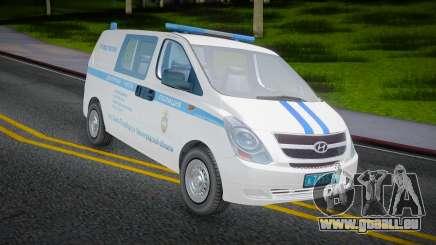 Hyundai H-1 Starex Police du ministère russe de l'Intérieur pour GTA San Andreas