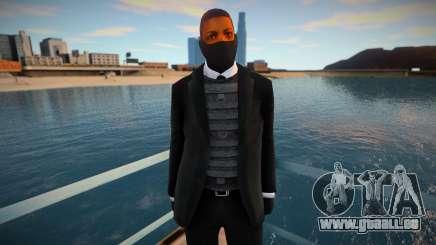 Nouvel agent de sécurité dans un masque pour GTA San Andreas