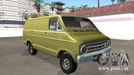 Dodge Tradesman 200 1972 Van pour GTA San Andreas