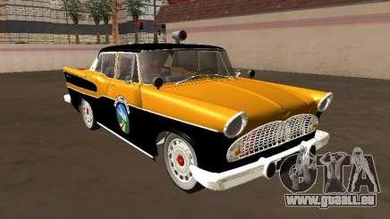 Simca Chambord 1957 Road Watchman für GTA San Andreas