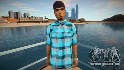 Cesar shirt style pour GTA San Andreas