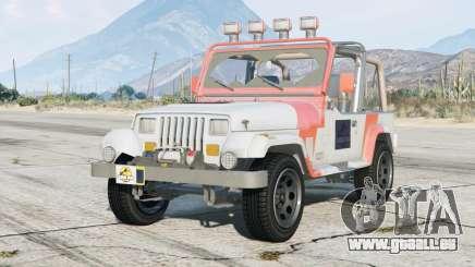 Jeep Wrangler Jurassic Park (YJ) 1993〡add-on pour GTA 5
