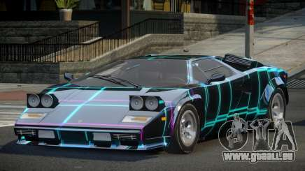Lamborghini Countach U-Style S1 pour GTA 4