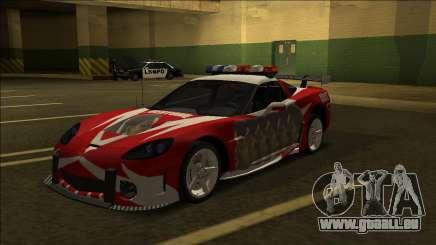 Chevrolet Cross Corvette C6 (Pepega Edition) für GTA San Andreas