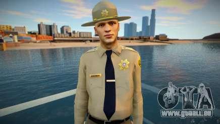 Shérif HD dsher pour GTA San Andreas