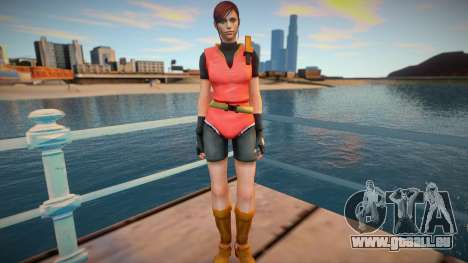 Claire Redfield (good skin) pour GTA San Andreas