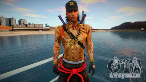 Keith Lumley Ninja pour GTA San Andreas