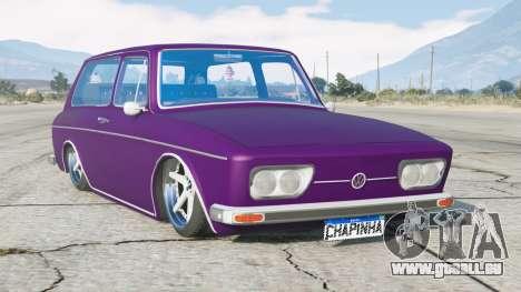 Volkswagen 1600 Variante 1973〡lowered〡add-on