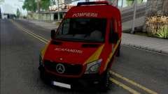 Mercedes-Benz Sprinter Scafandrii Pompierii