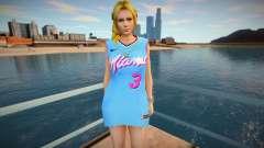 DOA Helena Douglas Fashion Casual V1 Miami Heat für GTA San Andreas