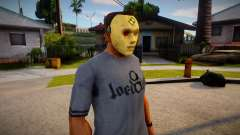 Expendable Asset Mask For CJ pour GTA San Andreas