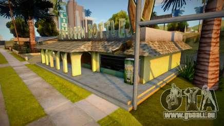 Dix bouteilles vertes Bar Textures pour GTA San Andreas