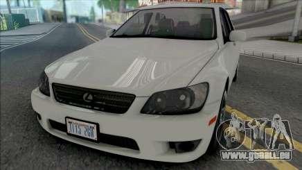 Lexus IS300 (SA Lights) für GTA San Andreas
