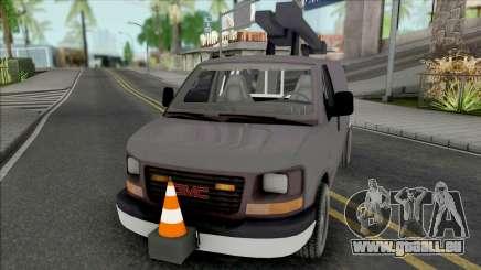 GMC Savana 2500 Utilty Van pour GTA San Andreas