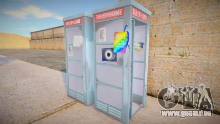 4K Telephone Booth pour GTA San Andreas