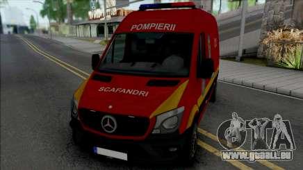 Mercedes-Benz Sprinter Scafandrii Pompierii für GTA San Andreas