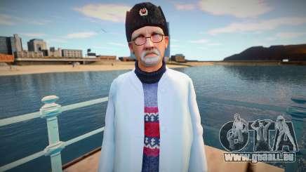 Scientifique russe en bouchon d'oreille pour GTA San Andreas