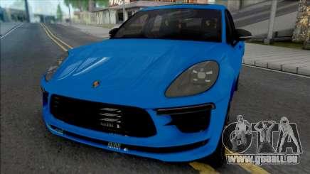 Porsche Macan Turbo Blue pour GTA San Andreas