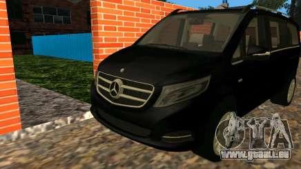 Mercedes-Benz Bluetec V250 für GTA San Andreas