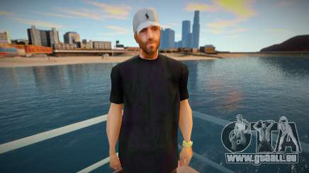 Andre with Polo Cap pour GTA San Andreas