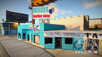 Retexturer le salon de coiffure à Idlewood pour GTA San Andreas