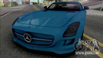 Mercedes-Benz SLS AMG Electric Drive 2013 für GTA San Andreas