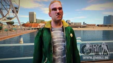 Bandit russe en colère pour GTA San Andreas