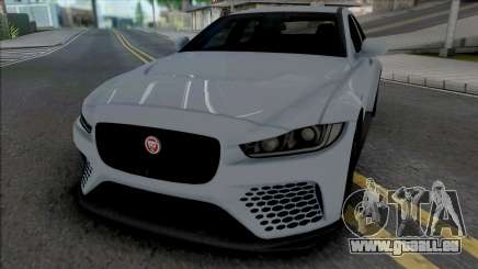 Jaguar XE SV [IVF ADB VehFuncs] für GTA San Andreas