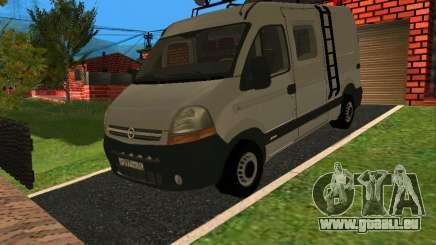 Opel MOVANO pour GTA San Andreas