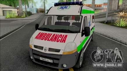 Renault Master Seme Ambulancia Paraguay für GTA San Andreas