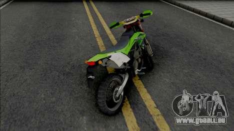 Kawasaki KLX 150BF pour GTA San Andreas
