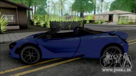 McLaren 720S Roadster pour GTA San Andreas