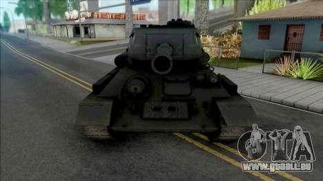 T-34-85 RUDY 102 (Czterej pancerni i pies) pour GTA San Andreas