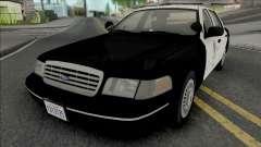 Ford Crown Victoria 1998 CVPI LAPD GND v2