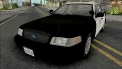 Ford Crown Victoria 2000 CVPI LAPD GND v2