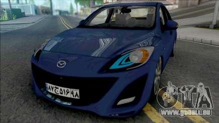Mazda 3 Sedan 2011 pour GTA San Andreas
