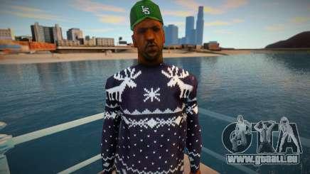 Doux dans un pull d'hiver pour GTA San Andreas