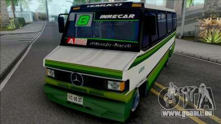 Mercedes-Benz LO 809 Skin L8 Temuco pour GTA San Andreas