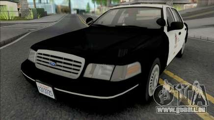 Ford Crown Victoria 1998 CVPI LAPD GND v2 pour GTA San Andreas