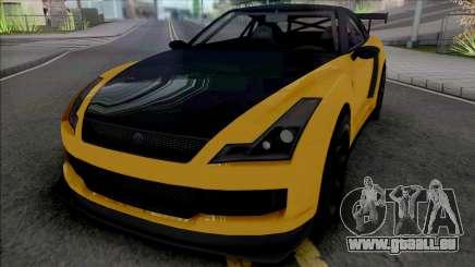 Annis Elegy RH8 [SA Plate] pour GTA San Andreas