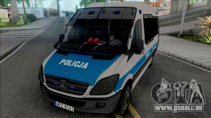 Mercedes-Benz Sprinter Policya OPP KSP pour GTA San Andreas