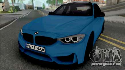 BMW F30 320d (M3 Style Bumpers) pour GTA San Andreas