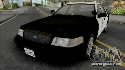 Ford Crown Victoria 2000 CVPI LAPD GND v2 für GTA San Andreas