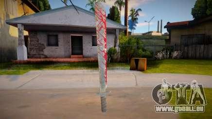 Jason Voorhees - machete pour GTA San Andreas
