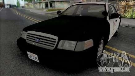 Ford Crown Victoria 2007 CVPI LAPD GND v2 pour GTA San Andreas